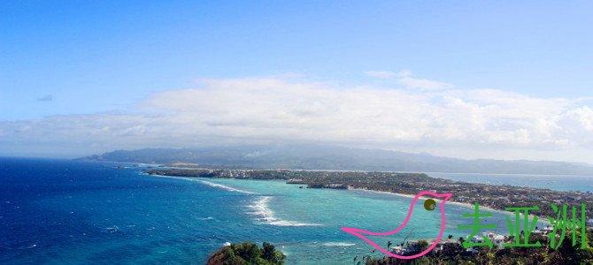 卢霍山上俯瞰全岛
