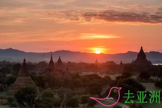 缅甸,佛的国度