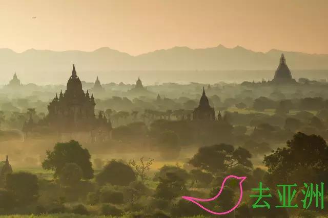 缅甸,佛塔林立