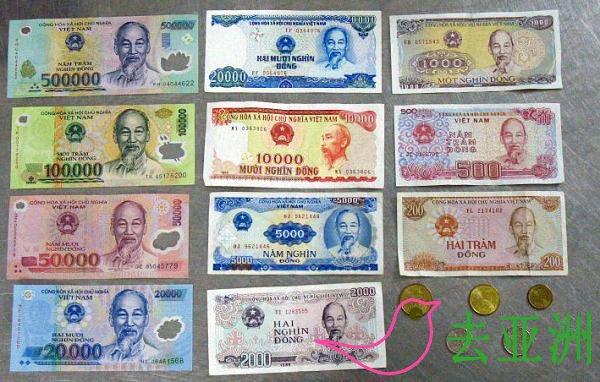 越南货币兑换方式,越南