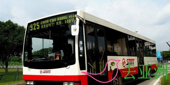 新加坡地铁巴士(smrt eBus)