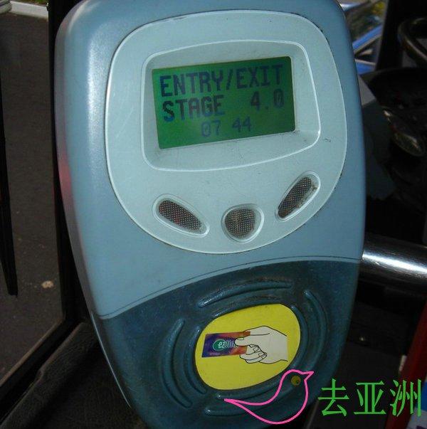 新加坡巴士啥卡支付