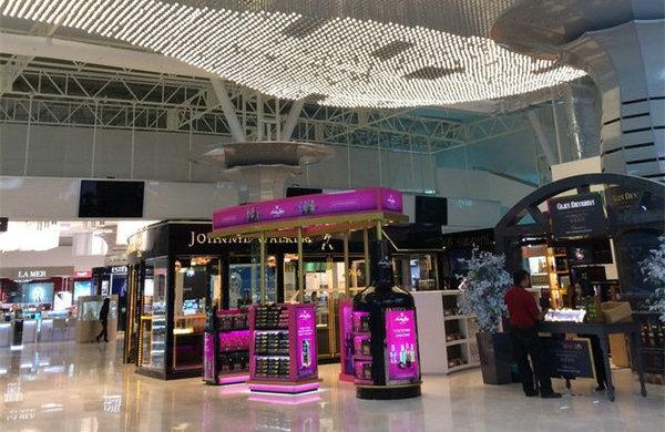 吉隆坡机场免税店