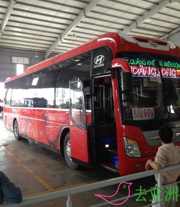 越南到柬埔寨,可乘坐巴士