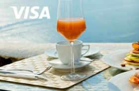 万豪酒店 提前 Visa 卡预