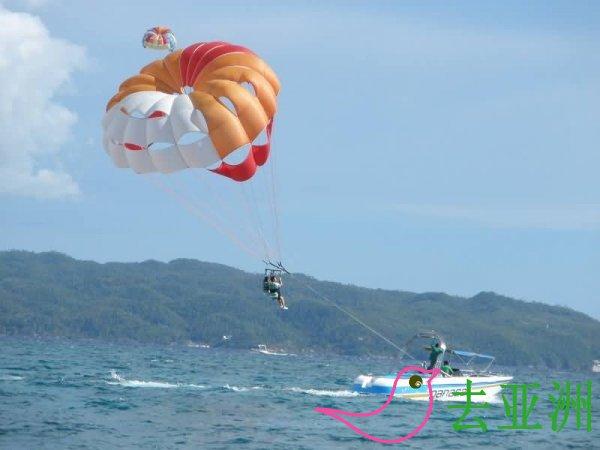菲律宾旅游玩什么:帆船