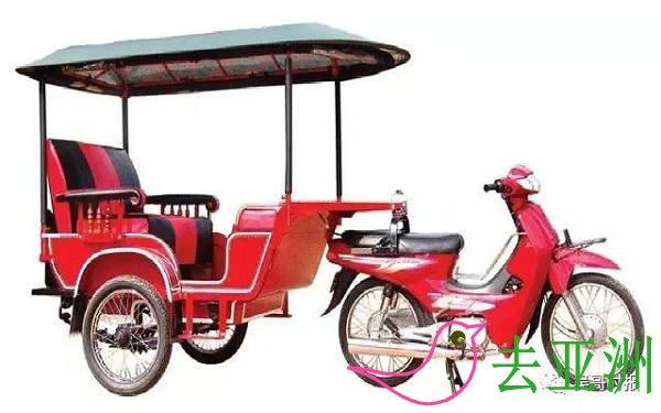 柬埔寨街头招车