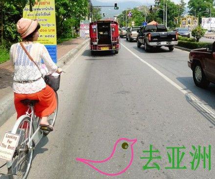 清邁租自行車