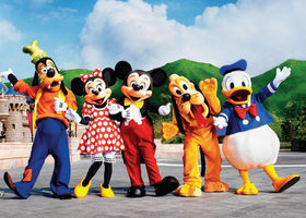 国泰航空 购买香港机票送香港迪士尼乐园2日门票