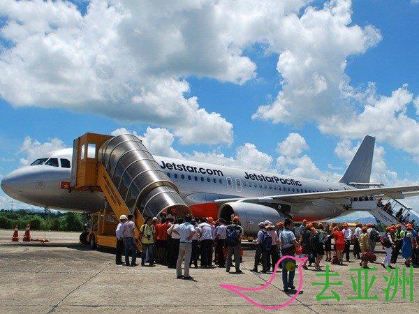 捷星航空公司正式开通河