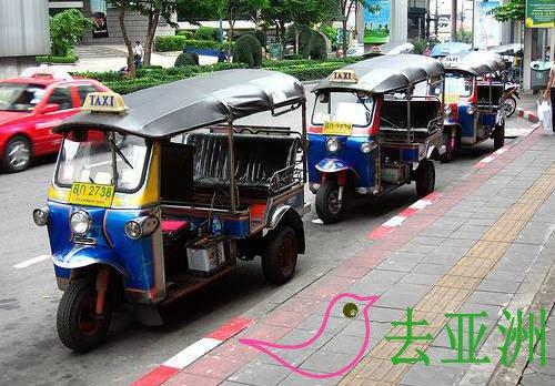 曼谷嘟嘟车(TUK-TUK)乘坐指南,嘟嘟车参考票价多少钱