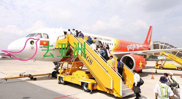 越捷航空公司开通飞往泰