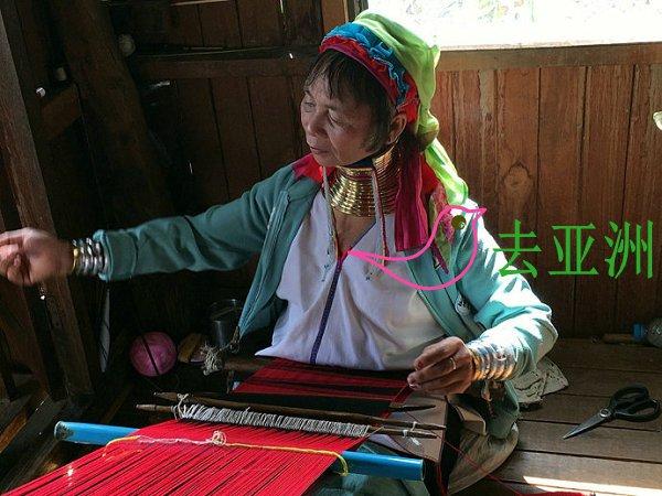 """伊瓦玛村最出名的还是终身佩戴颈环的缅甸""""卡央族""""女性"""