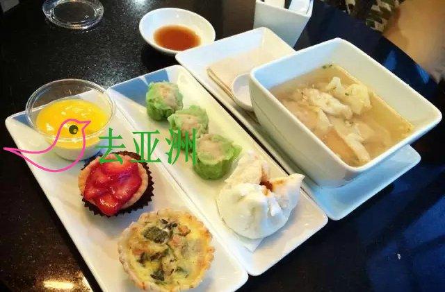 曼谷航空美味机上餐食知