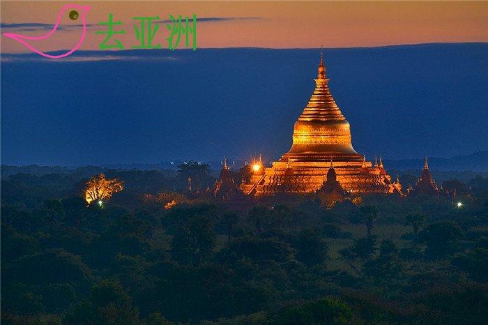 缅甸神秘的伊洛瓦底江畔