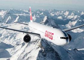 瑞士航空、汉莎航空订机
