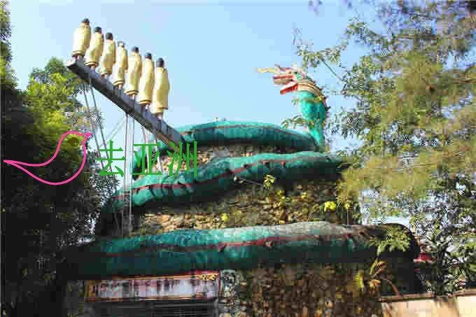眼镜蛇护佛祖传道处