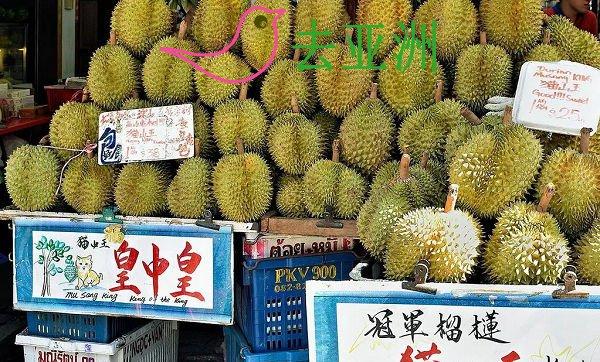 新加坡、马来西亚每年两个榴莲季,一次6月到8月,另一次是12月到1月