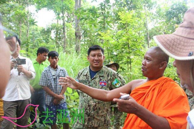 柬埔寨自然保护区从23个
