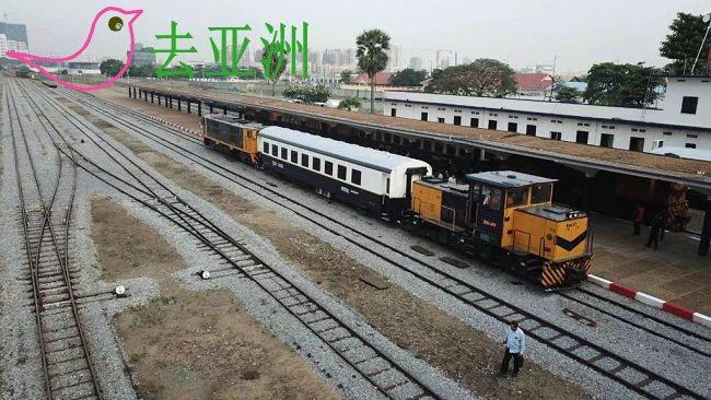 金边火车站前往金边国际