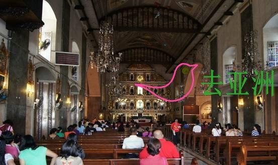 在宿务市,麦哲伦十字,圣婴圣殿都距离非常近