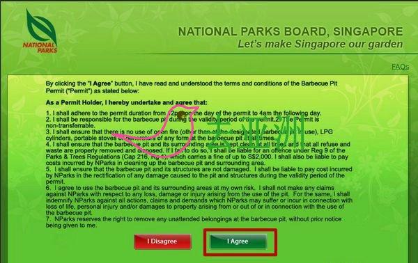 申请新加坡东海岸烧烤准证