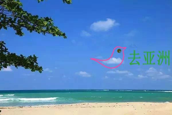 缅甸也有美丽的海滩,维桑海滩连绵15公里,为缅甸之最