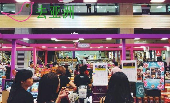 """在新加坡的手信中,""""老成昌""""蛋糕店算是新晋网红"""