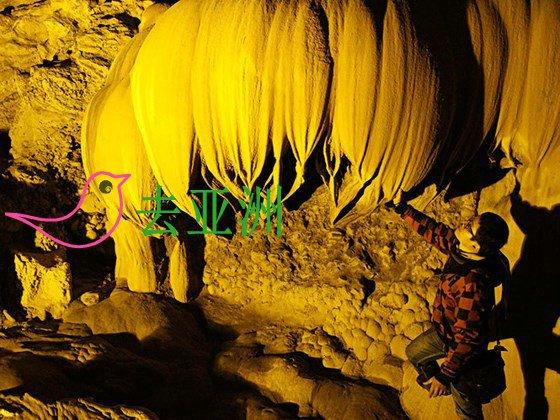 昂獒洞是遊客遊览高平省