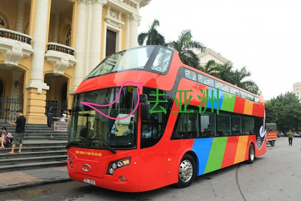 越南河内城市双层观光巴