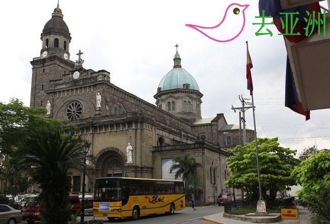马尼拉大教堂朝圣