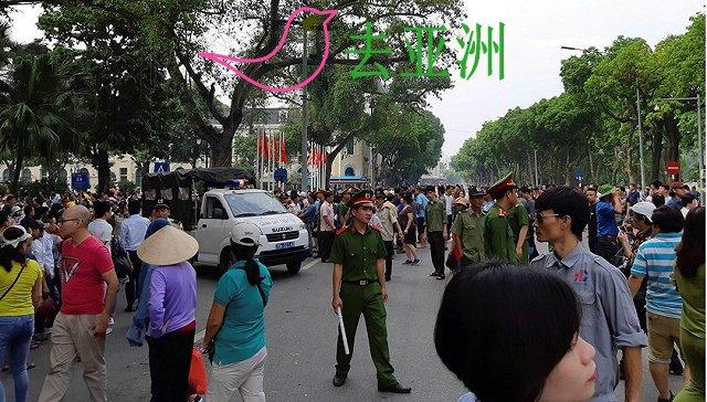 越南多地非法聚集涉反华内容 中国使馆提醒公民注意安全