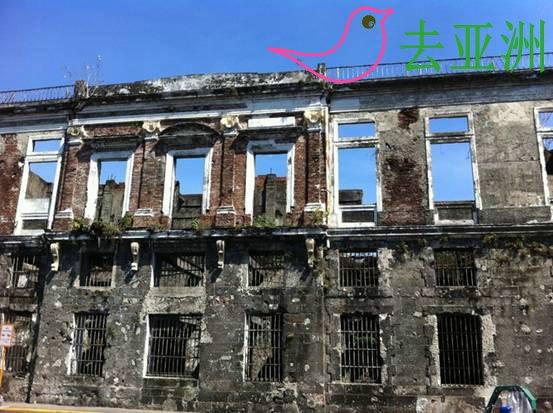 略显破败大的因特拉穆罗斯(intramuros),集中了马尼拉的多数景点