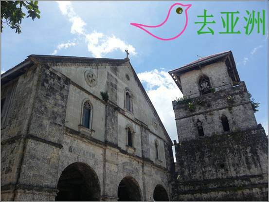 著名的圣奥古斯丁大教堂(San Agustin Church)
