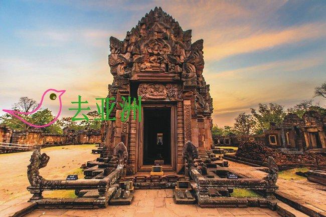 武里南府帕侬蓝历史公园(Prasat Hin Khao Phanom Rung)