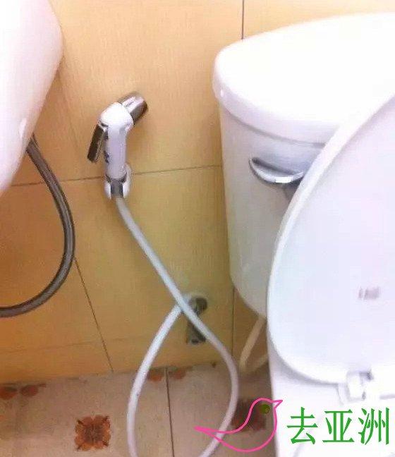 柬埔寨上厕所不用纸巾