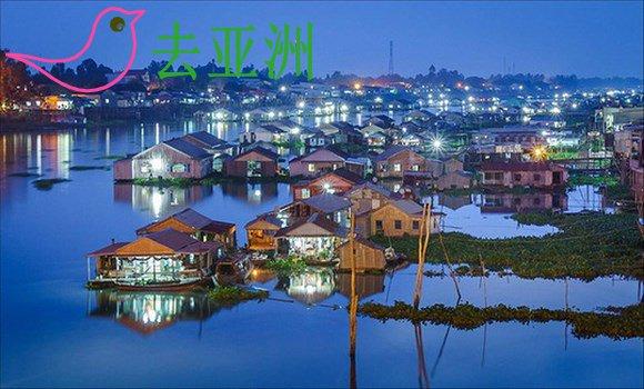 安江省朱笃市,乘坐拉车,体验水上村天水湖,