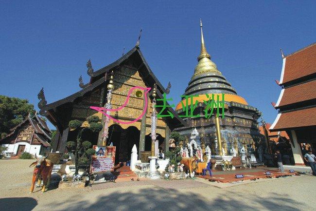 Pra That Lampang Luang佛寺(帕塔銮佛寺)