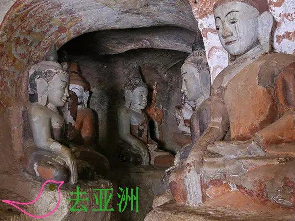 """蒲文桐石窟,堪称缅甸的""""敦煌石窟"""",距今已有近千年的历史"""