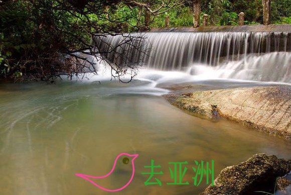 """探索同奈省""""绝情谷"""",穿过森林来""""泡浴"""",在热水湖浸泡"""
