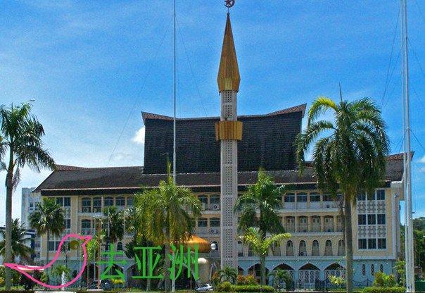 文莱建筑遗产盘点:Nurul Iman王宫,Bolkiah苏丹陵墓