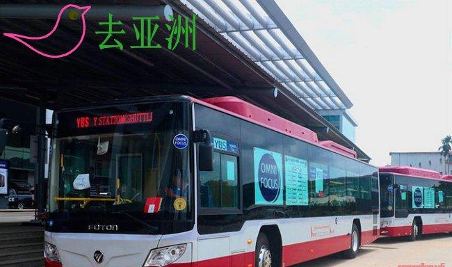 仰光YBS公交,Suttle号车开始开通运营仰光机场至苏雷、火车站班车
