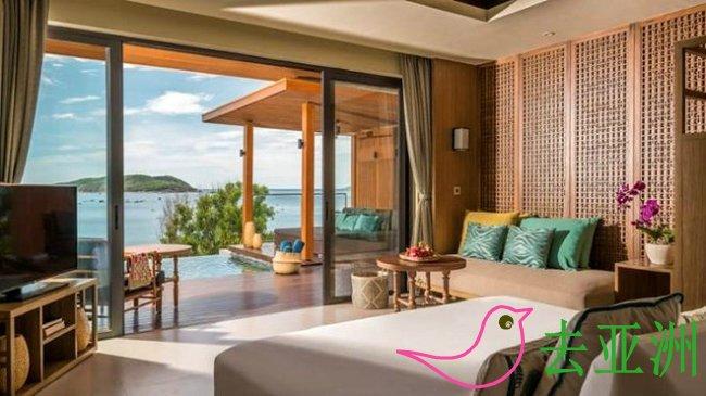 平定省归仁市安纳塔拉别墅度假酒店和富国岛长滩洲际度假酒店