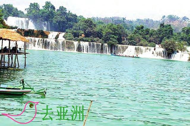 哈巴瀑布位于掸邦南部孟休(Monghsu)县境内,山明