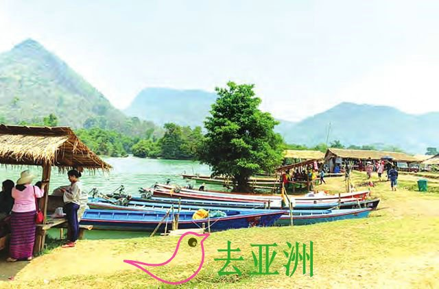哈巴瀑布位于掸邦南部孟休(Monghsu)县境内,山明水秀,鸟语花香