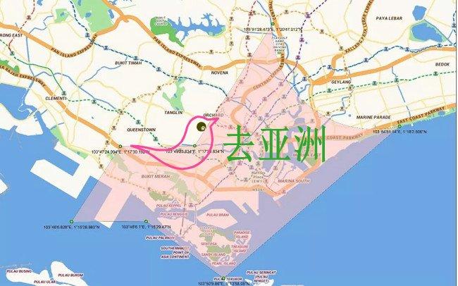 禁飞区范围,图源:新加坡民航局