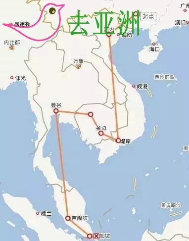 东南亚5国火车之旅:越南柬埔寨泰国马来西亚新