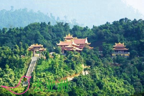 承天顺化省旅游,可以探访白马竹林禅院的旅游线路