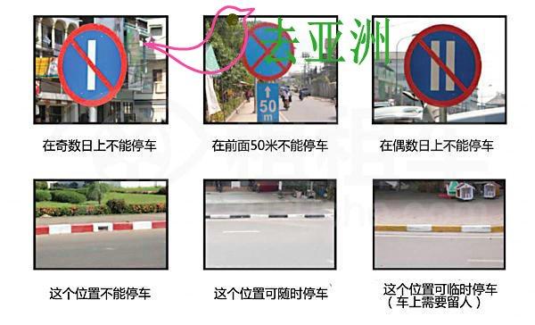 老挝自驾交通规则,停车、加油等交规,轻松自驾