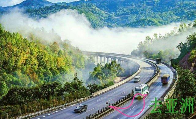 曼昆高速公路,东南亚自驾游昆明、老挝和泰国的曼谷,还可以